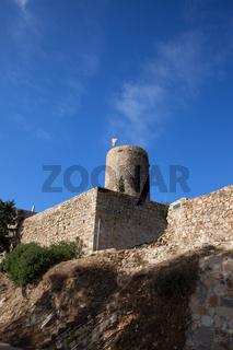 Castle of Sant Joan (Saint John) in Blanes