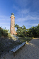 Lighthouse on the baltic sea