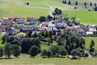 Gersbach, Dorf im Suedschwarzwald.