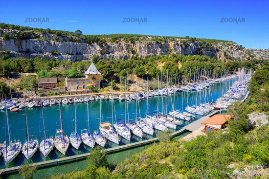 Calanque de Port Miou, Cassis, France
