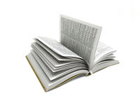 Open Book Bible in white Background Photo Image