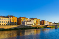 Downtown in Pisa Italy
