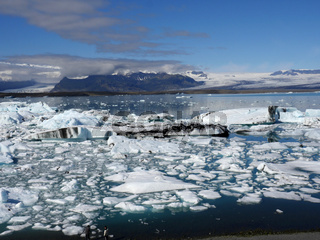 Gletschersee Jökulsárlón in Island