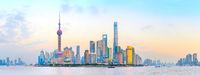 Shanghai colorful panorama, China