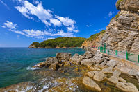 Beach at Budva Montenegro