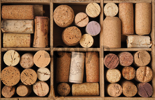 Old bottle cork