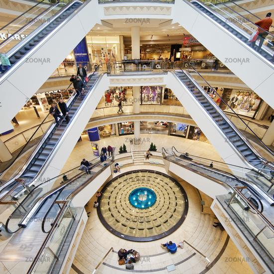 shopping center Limbecker Platz, Essen, Ruhr Area, North Rhine-Westphalia, Germany, Europe