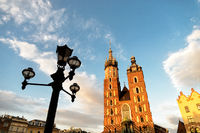 church of Mariacki in Krakow