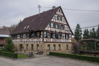 Fachwerkhaus in Tiefensall, Deutschland