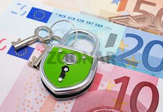 Geld Schloss Bank
