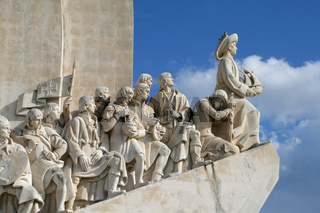 Portugal, Lissabon, Padrao dos Descobrimentos - Portugal, Lisbon, seafarer-memorial