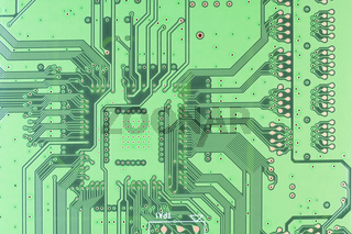 Real circuit board background