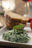 Spinat-Joghurt-Vorspeise aus dem Libanon