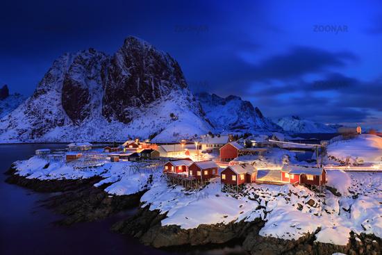 Hamnoy on Lofoten Islands