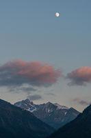 Mt Krottenkopf with moon
