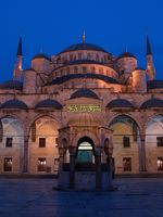 Sultan Ahmed Mosque at Night, Istanbul