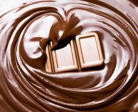 melting chocolate / melted chocolate