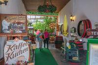 Cafe 'Seilbahn' in Ruedesheim in the Rhine-Valley