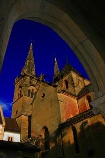 Neuchatel gotische Kirche