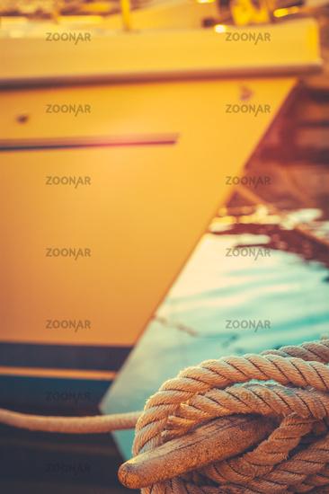 Retro Luxury Yacht
