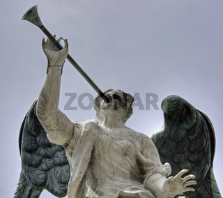 Angel with a trumpet, Venice