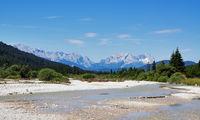 River in Bavarian Alps