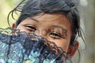 Mädchen in Kambodscha, Asien