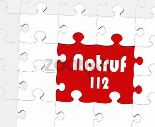 Notruf 112 - Konzept Hilfe und Notfall