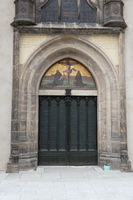 door of the Castle Church theses