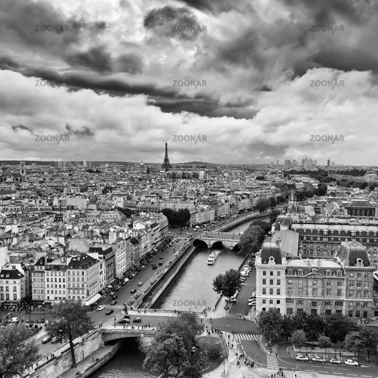 Panoram of Paris