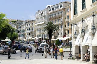Korfu, Altstadt von Kerkira