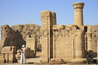 Egypt Edfu Temple Of Horus