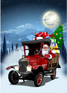 Vector Christmas Card