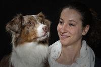 Mensch und Hund - ein treues Gespann