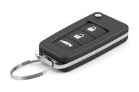 car key remote isolated on white background