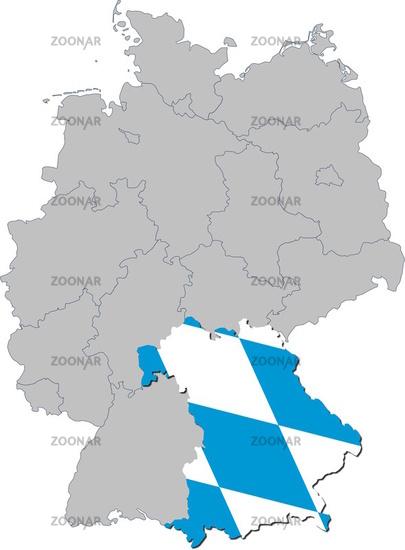 Bayern auf Deutschland