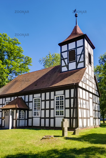 Church Grunow, Amt Schlaubetal, Brandenburg, Germany