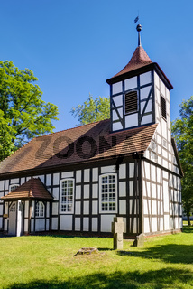 Dorfkirche Grunow, Amt Schlaubetal, Brandenburg, Deutschland