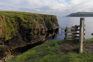 East Coast of Unst Island, Shetland, Scotland