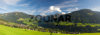 The alpine village of Alpbach and the Alpbachtal, Austria.