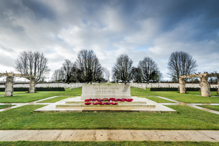 British and Commonwealth War Cemetery in Bayeux,France
