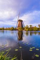 Windmills in Kinderdijk - Netherlands