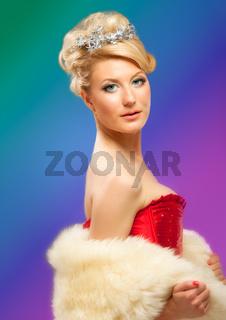 beautiful blonde sexy girl