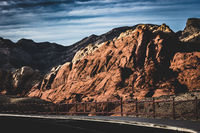 The Red Rock Canyon close to Las Vegas