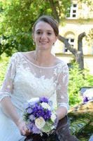 Happy smiling bride portrait