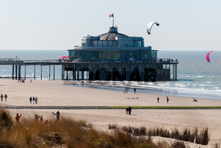 jetty of Blankenberge