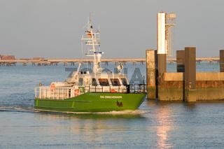 Grünes Schiff