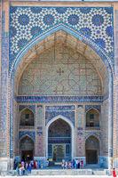 Ulugh Beg Madrasah, Samarkand Registan