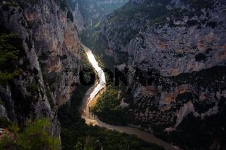 Grand Canyon du Verdon, Provence, Frankreich