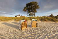 Beach on the baltic sea, germany